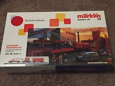 Marklin 44752 - HO Fire Department Recovery Crane Car Set WITH SOUNDS!