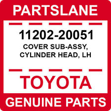 11202-20051 Toyota OEM Genuine COVER SUB-ASSY, CYLINDER HEAD, LH