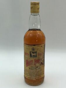 WHITE HORSE CELLAR FINE OLD BLENDED SCOTCH WHISKY 75cl. 40% AÑOS 80 DUTY FREE