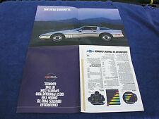 Corvette - Sales Brochure