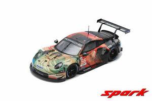 PORSCHE 911 RSR #56 WINNER LMGTE AM CLASS 24H LE MANS 2019 1/64 CAR SPARKY Y142B