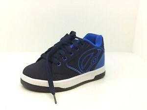 Heelys Boys BIZJ Basketball Shoes, Navy Blue,  Size Little Kid 13.0