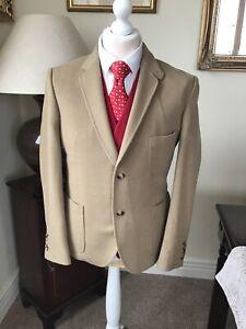 Wolsey 1755 40/50 Beige Cashmere Wool Blazer  - Good Condition