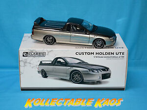 1:18 Classics - Custom Holden Ute - Silver only 750 made 18622