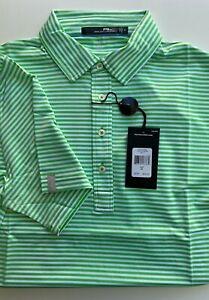 NWT RLX Ralph Lauren - Biltmore Multi Green White Golf Shirt UPF 40+ M,L,XL, XXL