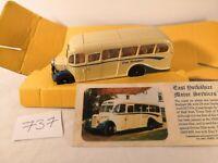 Corgi Classics Bedford Type OB Coach East Yorkshire Scale 1:50 with COA