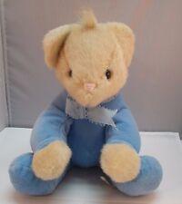 "North American Bear Co LULLABEAR Plush Lulla Sits 11"" 1988 Stuffed Animal"