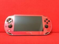 USED PlayStation PS VITA Console Wi-Fi Model Red PCH-1000 ZA03 F/S Japan