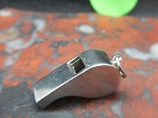 Whistle Charm 22.7 mm Beau Vintage Sterling Silver