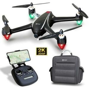 RC Quadcopter Drone 2K FHD Camera Wi-Fi GPS FPV Brushless Motor Water-Resistant