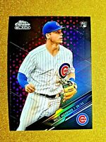 2020 Topps Chrome Black Nico Hoerner RC Rookie Magenta Refractor /10 #6 Gem Mint