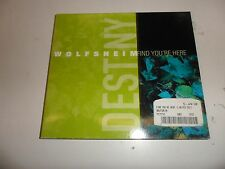 Cd  Find You'Re Here (Digipak) von Wolfsheim (2003) - Single