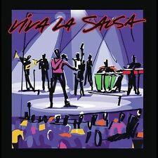 Viva La Salsa....1 DVD + 1 CD Set. Salsa Live. Brand New.