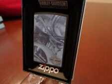 HARLEY DAVIDSON MOTORCYCLE ZIPPO LIGHTER MINT IN BOX