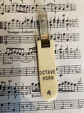 More details for rushworth & dreaper pipe organ stop tab split ring key ring. gift for organists!