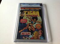 MARVEL CHILLERS 3 CGC 9.4 WHITE PGS ORIGIN OF TIGRA TONY ISABELLA MARVEL COMICS