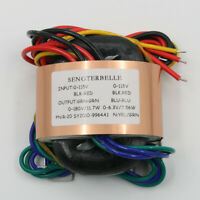 1PC 30W (30VA) Copper R-core Transformer 0-180V 0-6.3V for Tube Preamp