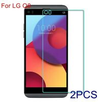 2pc 9H Explosion-proof Premium Tempered Glass Screen Protector Film For LG Q8