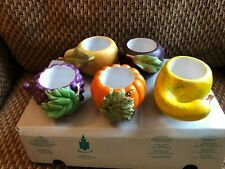 Harvest Medley by PartyLite, set of 5