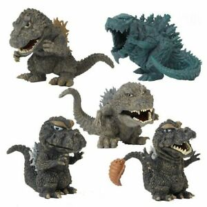 Godzilla Movie King of the Monster Action Figures Set 5 pcs  US Seller Free Ship