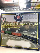 Lionel Minneapolis & St Louis Diesel Super Freight O-gauge electric train set