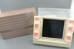 Vintage Avon Reflections of Beauty Make-Up Lighted Magnifying Mirror 1986 NOSOB