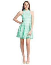 Nicola Finetti - Scallop Lace Dress | Green Lace | Size 8 | RRP $475