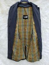Vintage Alligator Trench Coat Men's Size 42R - Needs Mended