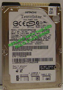 """20GB Fast SSD Replace HTS548020M9AT00 with this 2.5"""" 44 PIN IDE SSD Drive"""