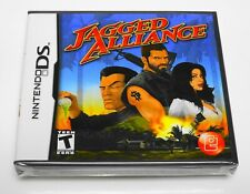 """🚁 JAGGED ALLIANCE 💥 (Nintendo DS, 2009) 2DS 3DS 💀 BRAND NEW SEALED """"RARE RPG!"""