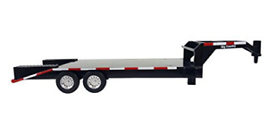 Big Country Flatbed Trailer - 1:20 Scale - Gooseneck Trailer - Toy Trailer -