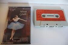 ADOLPHE ADAM K7 AUDIO TAPE CASSETTE.GISELLE(EXTRAITS) GRANDS BALLETS DU BOLCHOI.