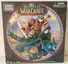 World of Warcraft Mega Bloks Dragon Turtle and Windpaw - New