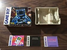 GameBoy System with Tetris version (Nintendo Game Boy) -- Authentic Box Only --