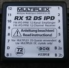 New in Box MULTIPLEX M55918 12 CH 72MHZ RC RX RECEIVER AIRPLANE HELICOPTER HELI