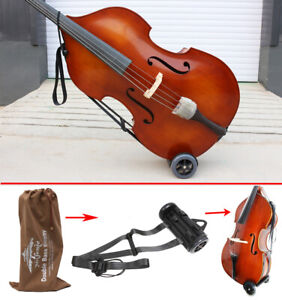 New Upright Double Bass Cart Transport Double bass With Wheel Troll Buggies UK
