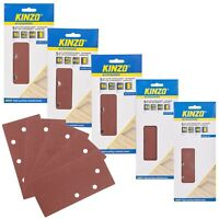 Kinzo 5pc Wood Sanding Paper Power Tools Sander Grit Universal Fit Band Abrasive