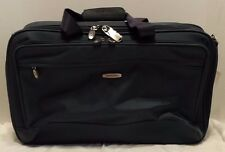 "Dakota Tumi Style 3678ST 21"" Expandable Carry On Duffle Garment Bag Blue Gray"