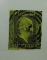 1850 Prussia German State SC #5 King Frederick William IV used stamp