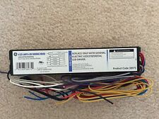 GE 38975 LED15T8/DR/D4L 120-277V 60W 4 LED LAMP 0-10V DIMMING DRIVER