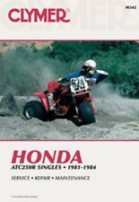 Cylmer Repair Service Shop Manual Honda ATC250R, 1981-1984