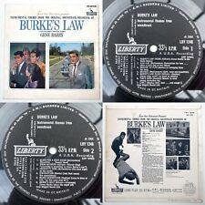 HERSCHEL BURKE GILBERT - Burke's Law Soundtrack LP Liberty A1/B1 VG/EX 1964