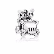 New Authentic Pandora Charm Disney, Mickey & Minnie Vintage Car Charm 797174