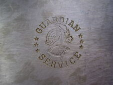 Antique Guardian Hammered Aluminum Single Triangle Saucepan w/lid