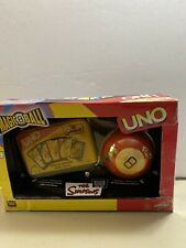 The Simpsons UNO and Magic 8 Ball New Other