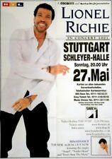 RICHIE, LIONEL - COMMODORES - 2001 - Konzertplakat - Tourposter - Stuttgart