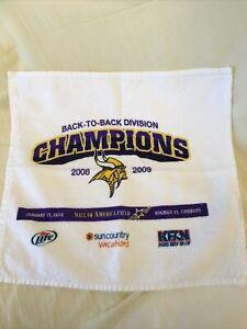 Minnesota Vikings 2008-2009 Back-to-back Division Champs Towel