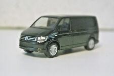 Herpa 28738 Volkswagen VW T6 Van Black NIB