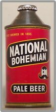 National Bohemian Beer Can Refrigerator / Tool Box Magnet