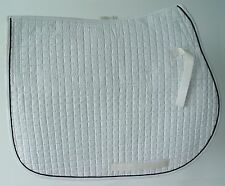 Sheepskin AP Pad, Detachable, Spine Channeled, High Wither, EquuFelt, White